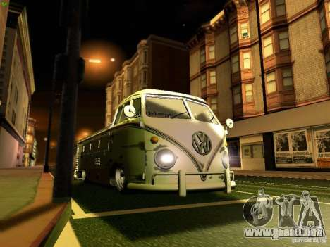 Volkswagen Type 2 Single Cab Rat para la vista superior GTA San Andreas