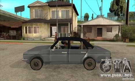 Anadol A1 SL 1975 para GTA San Andreas left