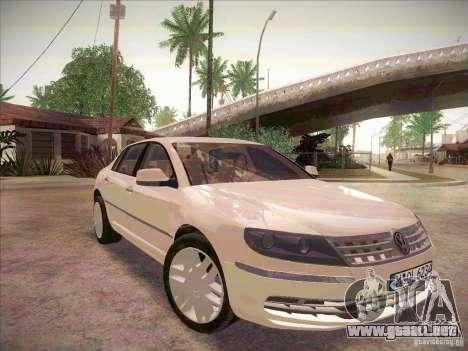 Volkswagen Phaeton 2011 para la visión correcta GTA San Andreas