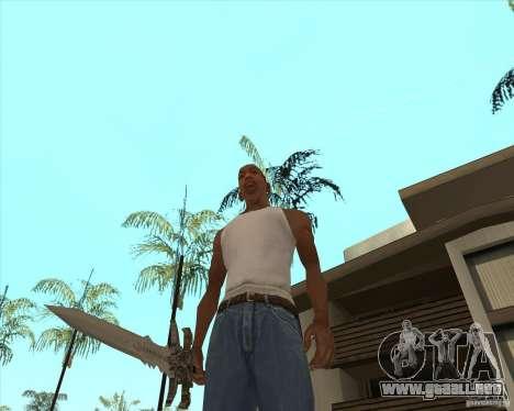 Frost morn para GTA San Andreas tercera pantalla