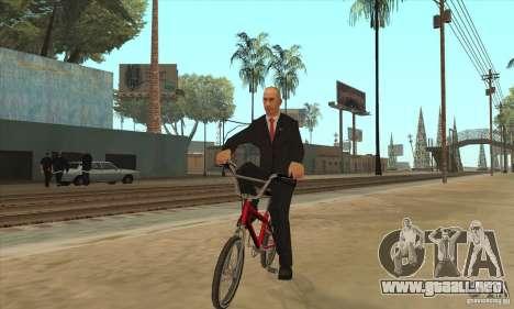 Vladimir Vladimirovich Putin para GTA San Andreas sucesivamente de pantalla