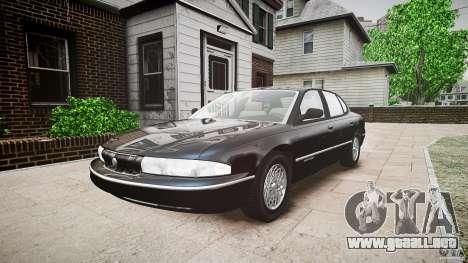 Chrysler New Yorker LHS 1994 para GTA 4 visión correcta