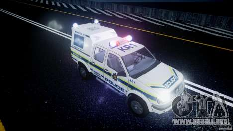 Nissan Frontier Essex Police Unit para GTA 4 vista superior