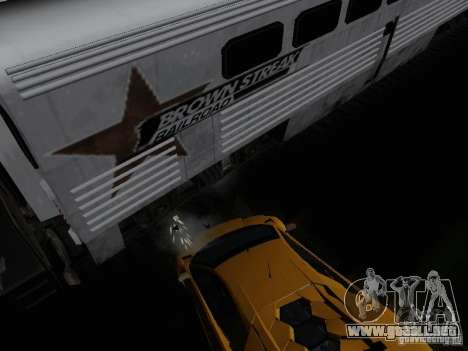 Crazy Trains MOD para GTA San Andreas sucesivamente de pantalla