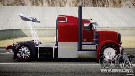Peterbilt Sport Truck Custom para GTA 4 left