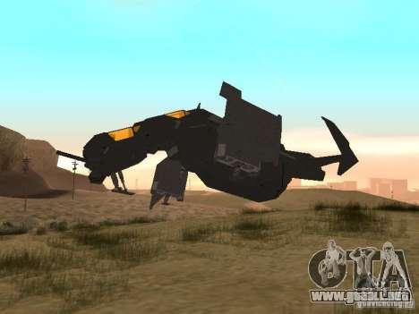 Vtol Crysis para GTA San Andreas