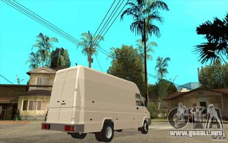 Iveco Turbo Daily para la visión correcta GTA San Andreas