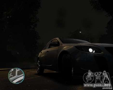 Vauxhall Insignia v1.0 para GTA 4 Vista posterior izquierda