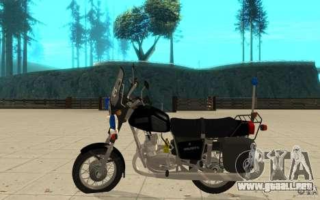 IZ Júpiter 5 DPS para GTA San Andreas left