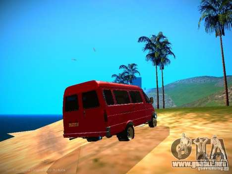 Gacela 32213 negocios v1.0 para vista inferior GTA San Andreas