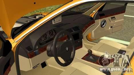 BMW 730i Taxi para visión interna GTA San Andreas