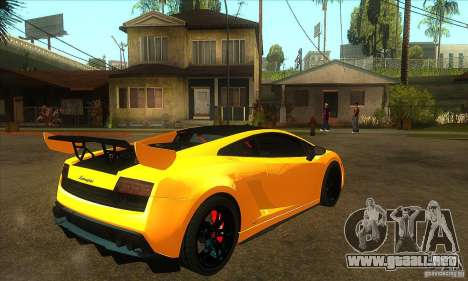 Lamborghini Gallardo LP570 Super Trofeo Stradale para la visión correcta GTA San Andreas