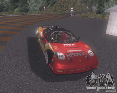 Honda NSX Japan Drift para la vista superior GTA San Andreas