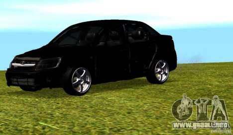 LADA Granta v2.0 para la vista superior GTA San Andreas