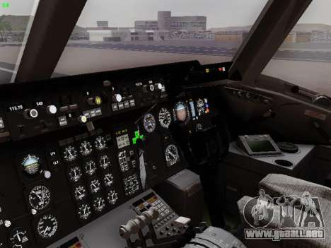 McDonell Douglas DC-10-30 British Airways para GTA San Andreas vista hacia atrás