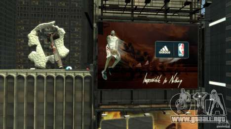 Time Square Mod para GTA 4 tercera pantalla