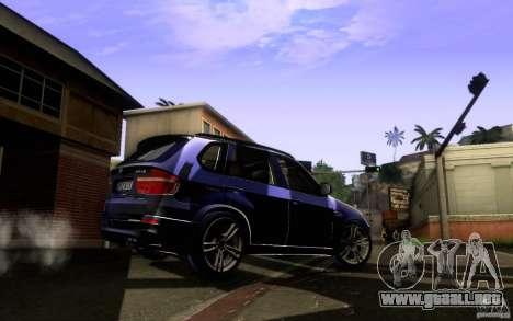 BMW X5M  2011 para la visión correcta GTA San Andreas