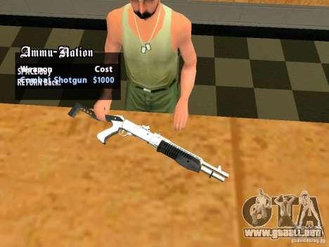 TeK Weapon Pack para GTA San Andreas undécima de pantalla