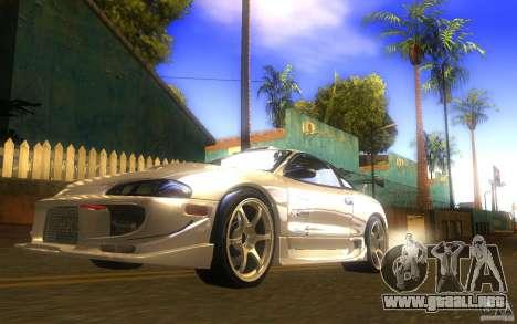 Mitsubishi Eclipse DriftStyle para la visión correcta GTA San Andreas