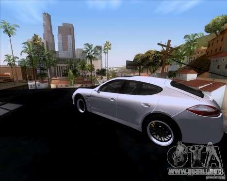 Porsche Panamera 970 Hamann para GTA San Andreas left