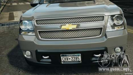 Chevrolet Suburban GMT900 2008 v1.0 para GTA 4 vista interior