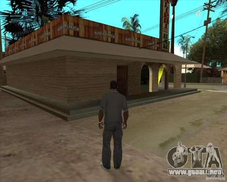 Salierys Bar para GTA San Andreas tercera pantalla