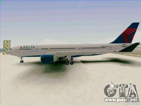 Airbus A330-200 para GTA San Andreas left