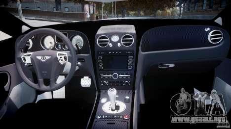 Bentley Continental SS 2010 ASI Gold [EPM] para GTA 4 visión correcta