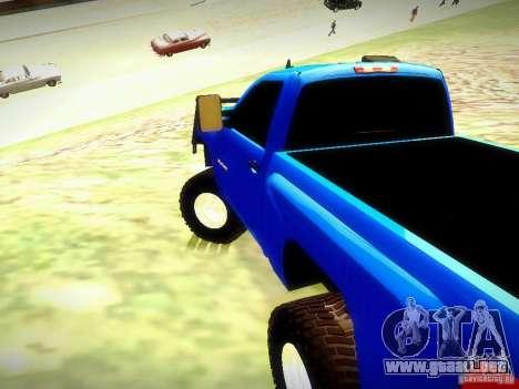 Chevrolet Silverado OFFRoad para GTA San Andreas left