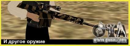 Tiger Weapon Pack para GTA San Andreas tercera pantalla