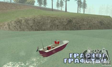 Sports Fishing Boat para GTA San Andreas left