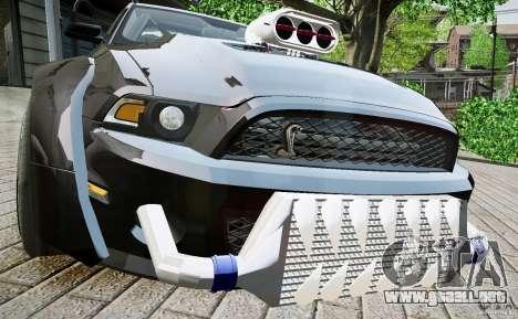Ford Shelby GT500 para GTA 4 visión correcta
