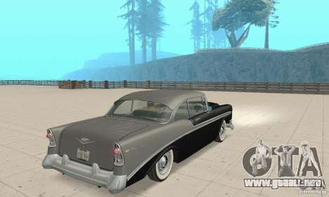 Chevrolet Bel Air 1956 para GTA San Andreas left