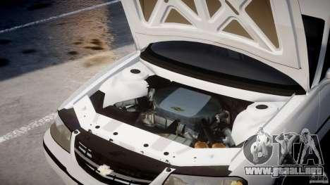 Chevrolet Impala Unmarked Police 2003 v1.0 [ELS] para GTA 4 visión correcta