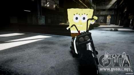 Bob esponja para GTA 4 décima de pantalla