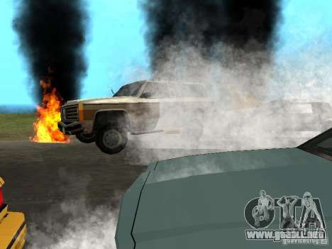 Nuevos efectos, humo, etc.. para GTA San Andreas
