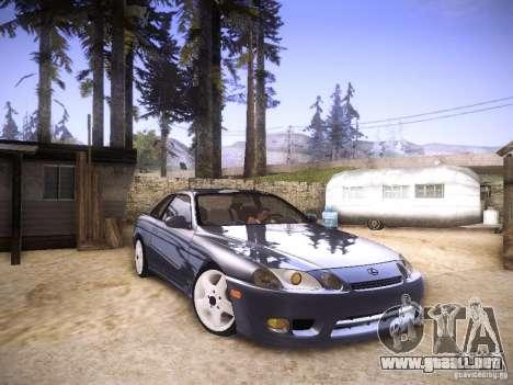Lexus SC300 - Stock para la visión correcta GTA San Andreas