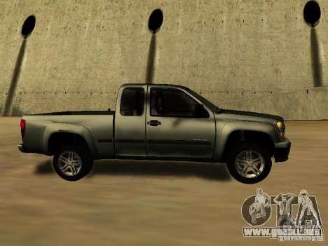 Chevrolet Colorado para la visión correcta GTA San Andreas