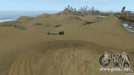 Desert Rally+Boat para GTA 4 segundos de pantalla