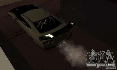 Nissan GTR R35 Tuning para la visión correcta GTA San Andreas