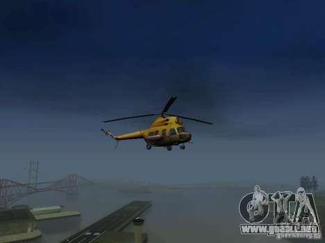 Policía mi-2 para la visión correcta GTA San Andreas