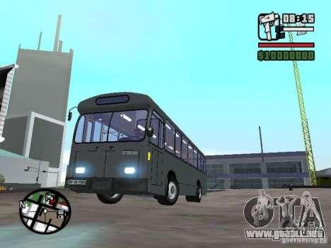 FBW Hess 91U para GTA San Andreas