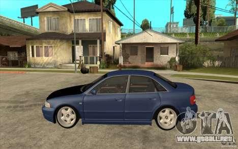 Audi A4 para GTA San Andreas left