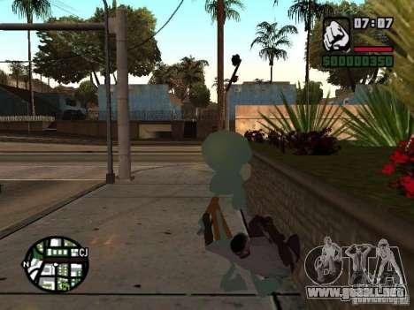 Calamardo para GTA San Andreas sexta pantalla