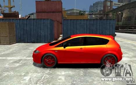 Seat Leon Cupra Light Tuning para GTA 4 left