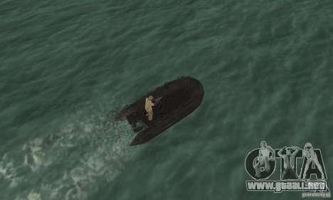 Barco de Cod mw 2 para GTA San Andreas vista hacia atrás