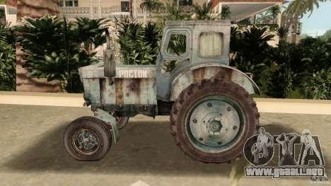 Tractor t-40 para GTA Vice City vista interior