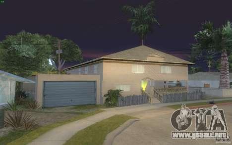 Cuatro casas nuevas en Grove Street para GTA San Andreas tercera pantalla