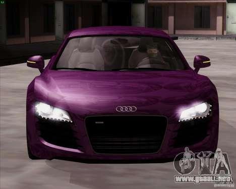 Audi R8 Production para la visión correcta GTA San Andreas