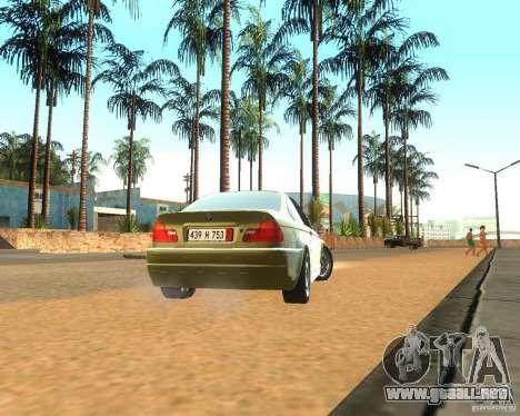 BMW 318i E46 2003 para la visión correcta GTA San Andreas
